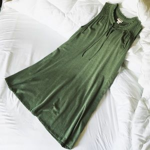 Sleeveless Pocket Tee Dress